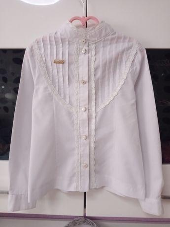 Школьная блузка Suzie Ромина 128 размер хлопок