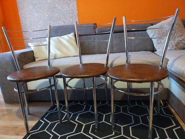 3 krzesła kuchenne