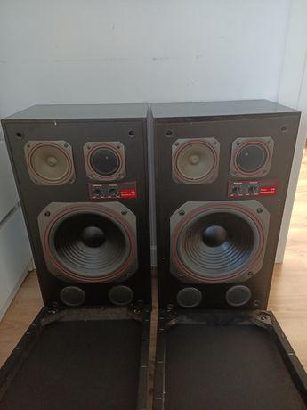 Dwa głośniki w drewnianej obudowie Unitra Tonsil