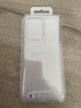 Etui Oryginalne Clear Cover Samsung Galaxy S20 Ultra