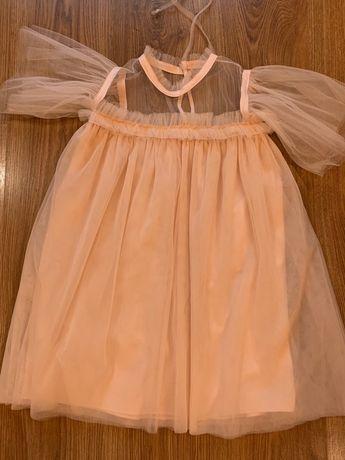 Продаются новые фатиновые платья (116 см, 128 см)
