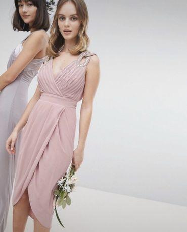 Ołówkowa sukienka TFNC London ASOS