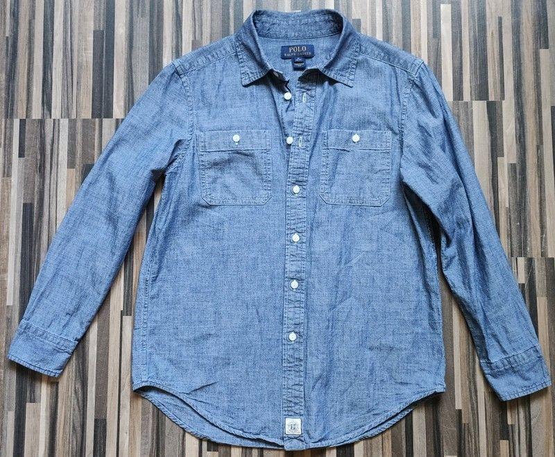 Koszula w kolorze blue jeans! POLO Ralph Lauren! M!(138-149cm) Grudziądz - image 1