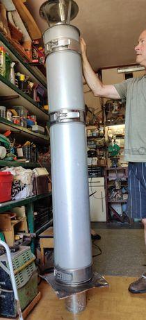 Rura kominowa  173 cm szer.12.5cm