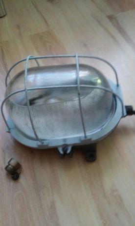 Kolekcje PRL-u stara lampa