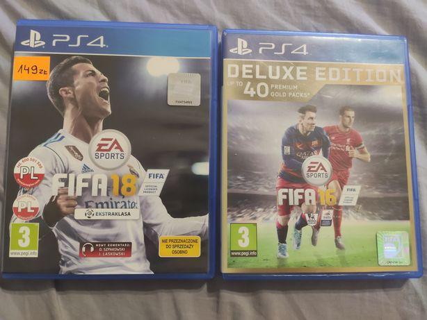 FIFA 18 + FIFA 16 ps4
