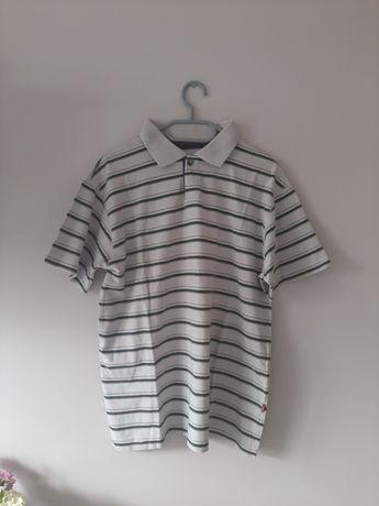 Bluzka na krótkim rękawie koszulka M w paski