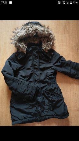 H&M kurtka przejściowa czarna 134 cm