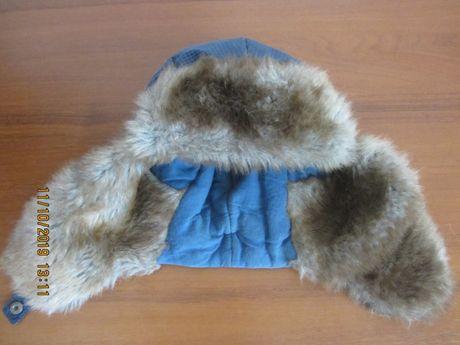 Зимняя шапка мальчику 8-11лет