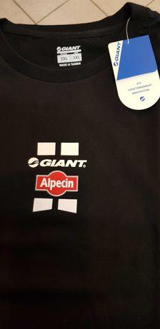Koszulka GIANT - Alpecin  , nowa , rozmiar 2 XL / 3 XL