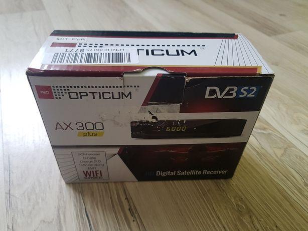 Dekoder telewizji satelitarnej OPTICUM HD AX 300 Plus