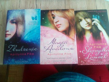 Skrzydła Laurel seria 3 książek