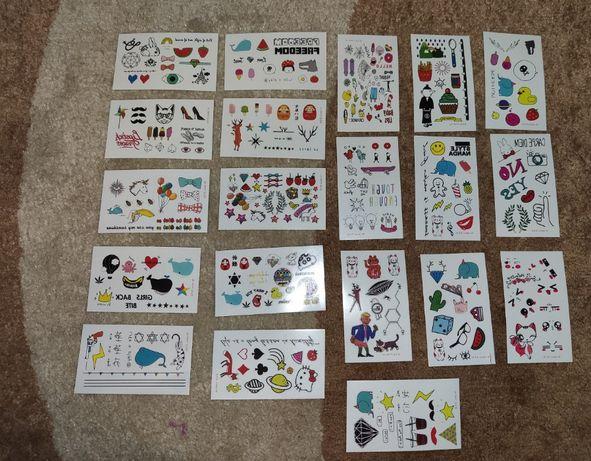 20 kart z tatuażami