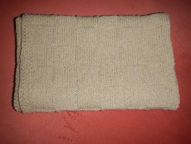 детский плед ручной работы одеяло р.75см х 90см