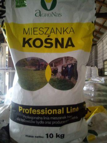 mieszanka wysokobiałkowa dla krów mlecznych, trawa białko plus, nasion