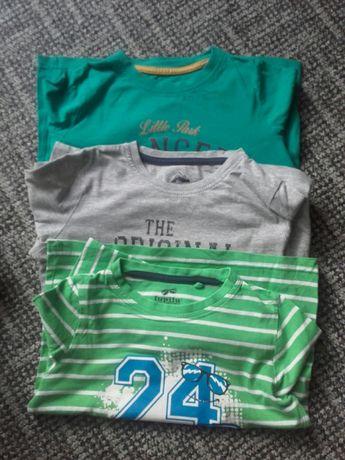 Koszulki z długim rękawem dla chlopca 110-116