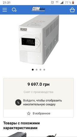 Мощный ИБП инвертор на 48в