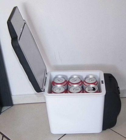 mała 12V lodówka na 6-cio paka