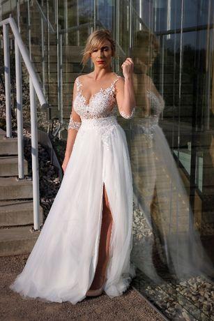 Suknia ślubna powystawowa BARELL r.38 produkt polski