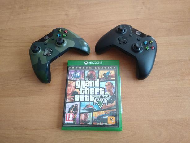 Pady Xbox one + gra