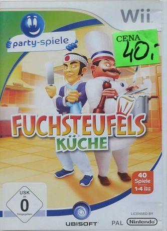 Gra na Nintendo Wii i Wii U: Fuchsteufels (kucharz na bazie chińczyka)