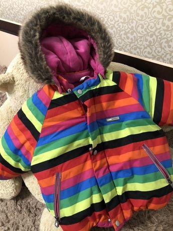 Курточка куртка Lenne Ленне 80 / 86 зимняя теплая куртка