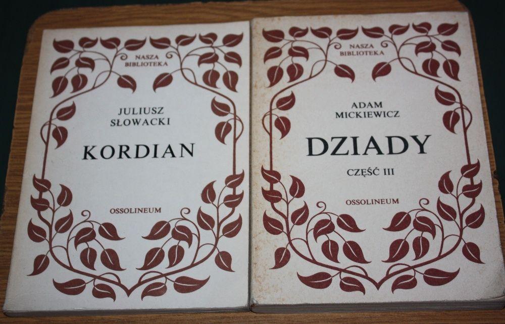 Adam Mickiewicz Kordian i Dziady cz. III
