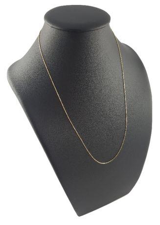 Piękny złoty łańcuszek pr. 585
