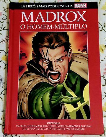 Capitão Marvel e Madrox  o Homem Múltiplo