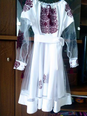 Плаття, вишиванка, сукня