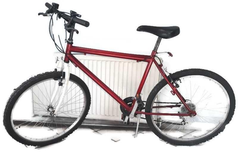 Rower czerwony  RAMA 20' KOŁA 26'