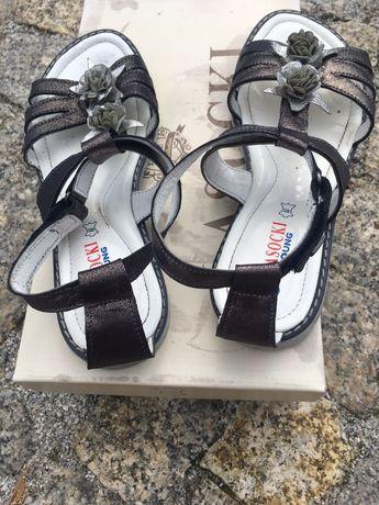 Buty lasocki young 24 sandałki dziewczynk