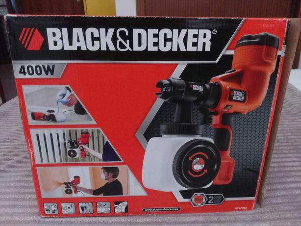 Vendo pistola de pintura Black & Decker 400w