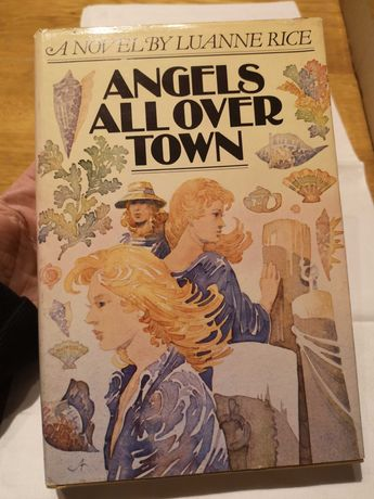 """Luanne Rice """"Angels All Over Town"""""""