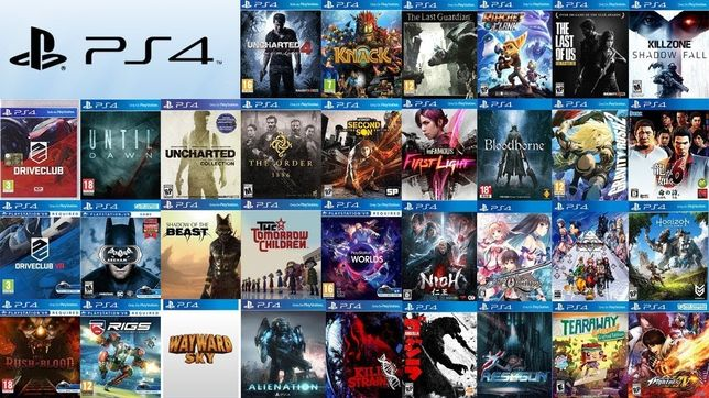 Аренда игр для PS4 и PS5