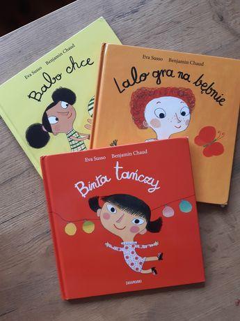 Zestaw 3 książek Binta Lalo i Babo