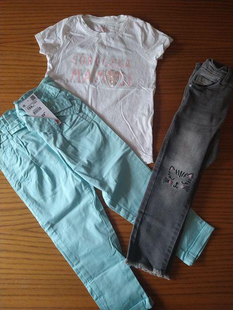 Zestaw spodnie bluzka Reserved KappAhl