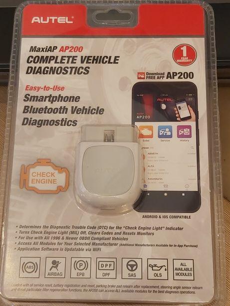 Autel MaxiAP AP200 full aktualizacje online nie X431 nie Launch