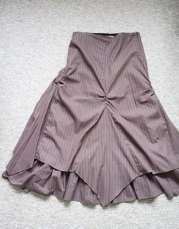 Spódnica - długa, promod, pasy, boho