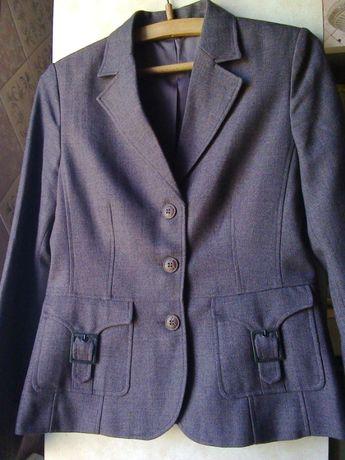 Пиджак (блейзер-жакет) KappAhl коричневый №1 (школьная форма)