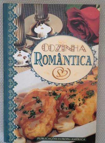 Livro Cozinha Romântica 85 Receitas