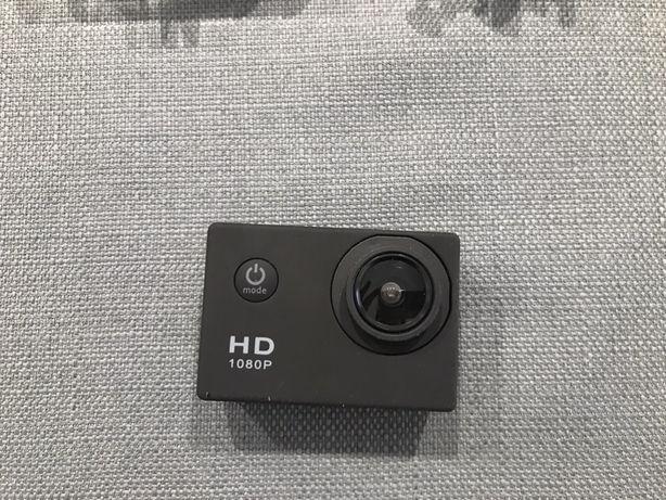 Action Cam HD com acessórios
