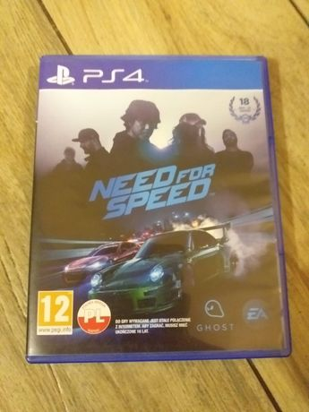 Need For Speed na PS4