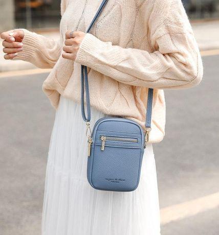 Маленькая сумочка через плечо мини для телефона сумка кроссбоди клатч
