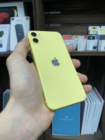 Apple iPhone 11 64 gb Yellow КАК НОВЫЙ! (Гарантия, магазин, обмен)