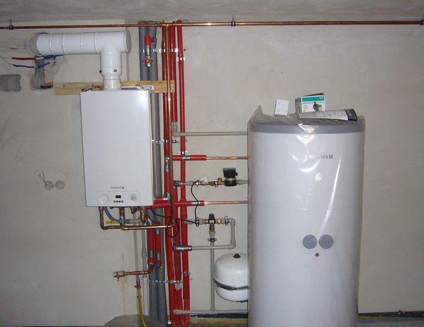 Hydraulik Gazownik Montaż pieca gazowego