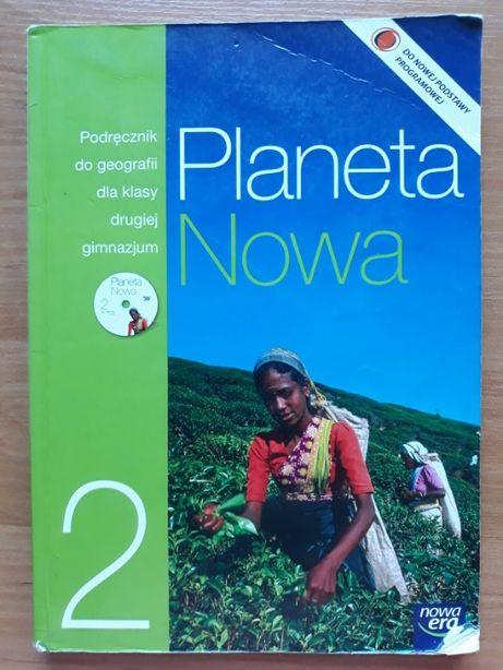 Planeta nowa 2 podręcznik do geografii dla klasy 2 gimnazjum