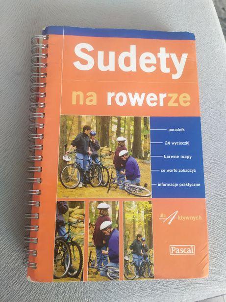 Podręcznik Sudety na rowerze, Pascal, gruby, stan bardzo dobry plus