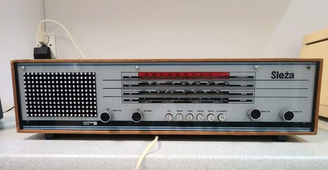 Radio retro prl ślęża