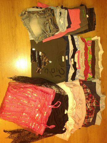 Paczka ubrań dla dziewczynki roz.134-146